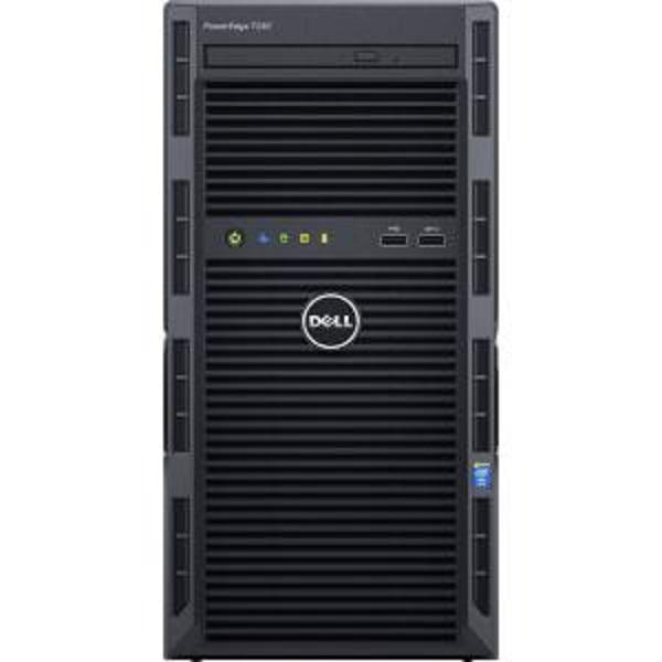 DELL PE T130 Xeon E3-1270 v5/16GB/2x2TB SAS/H330/RAID 1
