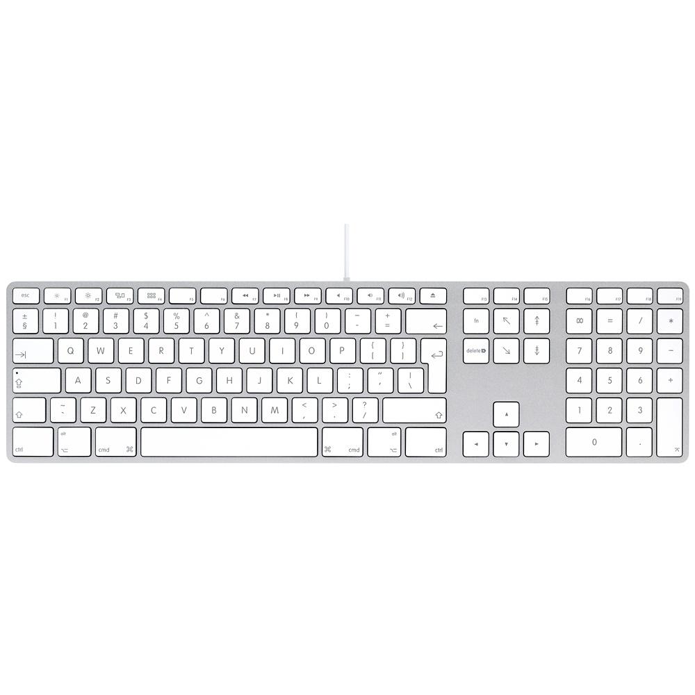 Wired Keyboard INT s numerickou klávesnicí