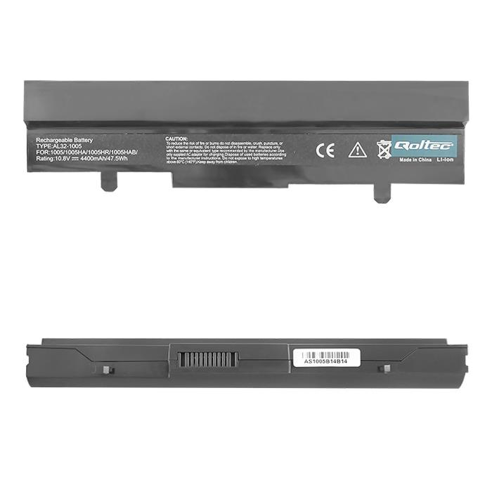 Qoltec Long Life Notebook Battery Asus EEE PC 1005 | 4400mAh | 11.1V