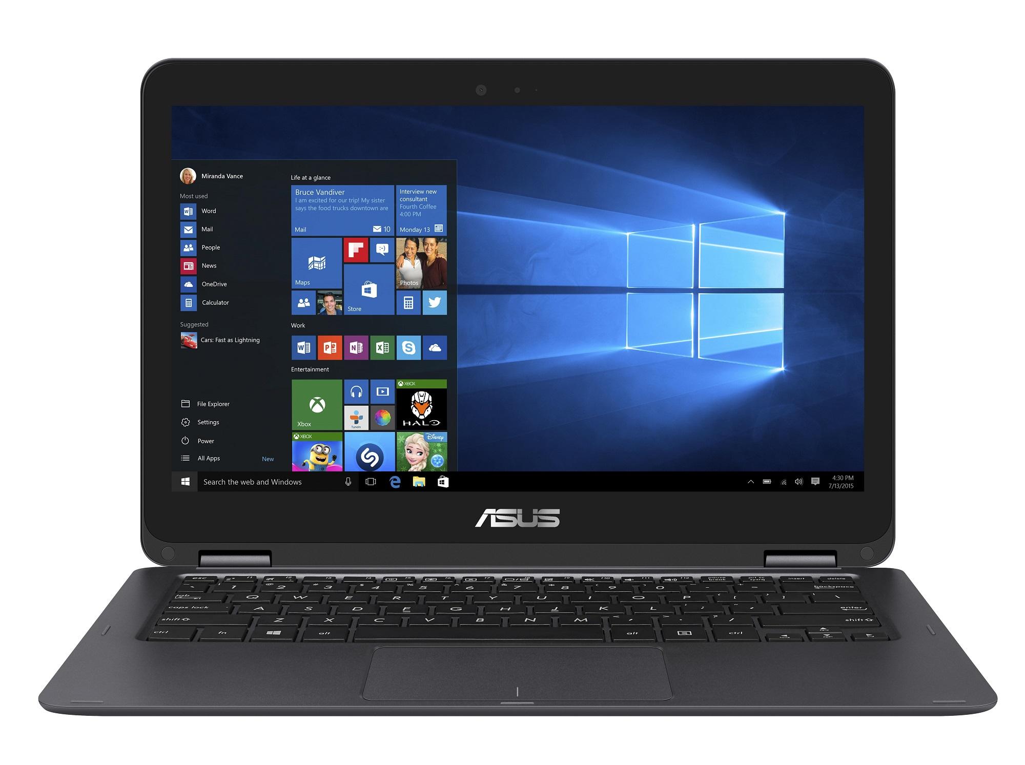 "ASUS UX360CA-C4080T M3-6Y30/4G/512GB SSD/13,3"" FHD/Touch/Win10/šedý"