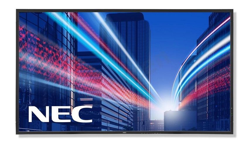 "55"" LED NEC V552 - FullHD,MVA,450cd,rep,24/7"