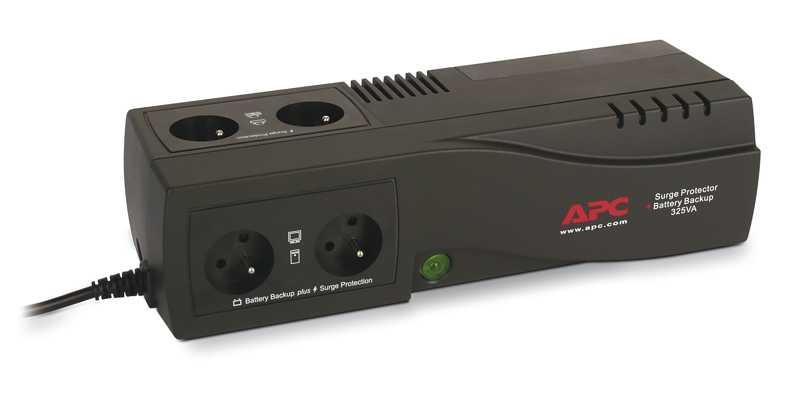 APC SurgeArrest + bateriový záložní zdroj 325VA (185W) Francie