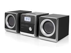 TOPCOM AudioSonic HF-1260 Stereo set, 2 x 5 Watt, CD/MP3, FM/MW, USB, Aux-in