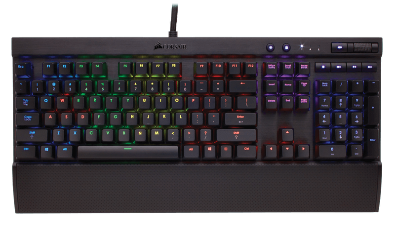 Corsair K70 RGB Mechanical Gaming Keyboard - Cherry MX Brown, EU