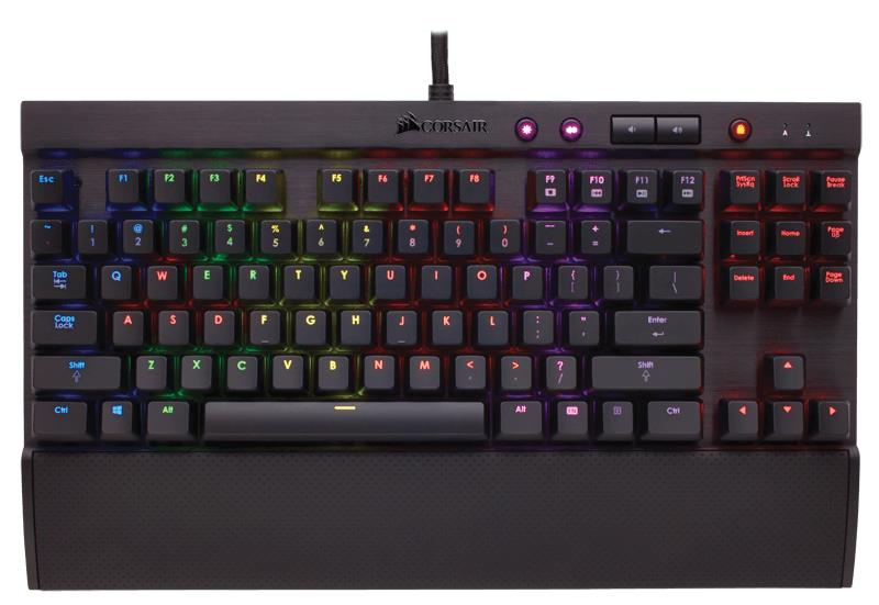 Corsair Gaming K65 RGB Compact Mechanical Gaming Keyboard - EU Version