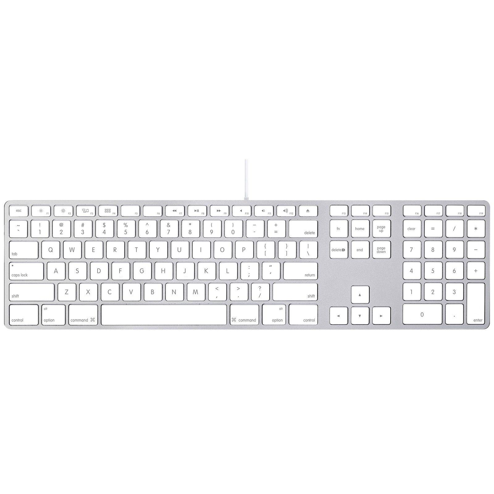 Wired Keyboard US s numerickou klávesnicí