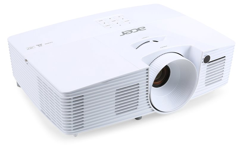 Acer X135WH DLP/3D/1280x800 WXGA/3400 ANSI lm/20 000:1/VGA/HDMI/2.5Kg/ColorBoost 3D/ColorSafe II/životnost lampy 5000
