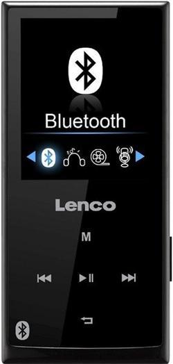 LENCO Xemio 760 - černý - MP3/MP4 přehrávač s bluetooth, 8GB + microSD slot