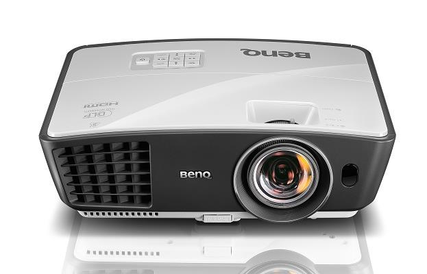 Projektor BenQ W770ST; DLP; WXGA (1280x800); 2500 ANSI; 13000:1; HDMI