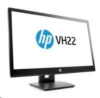 "HP LCD VH22 LED 21.5""wide, (TN, 1920x1080, 5ms, 1000:1, 250 nits, VGA, DP, DVI-D)"