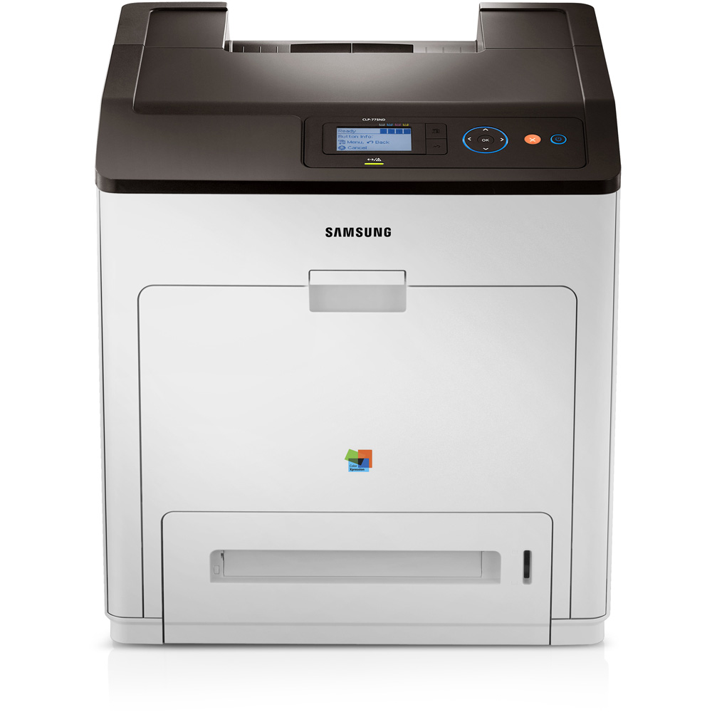 Samsung CLP - 775ND,A4,33/33ppm,9600x600dpi,PCL+PS,384MB,USB,ethernet,duplex