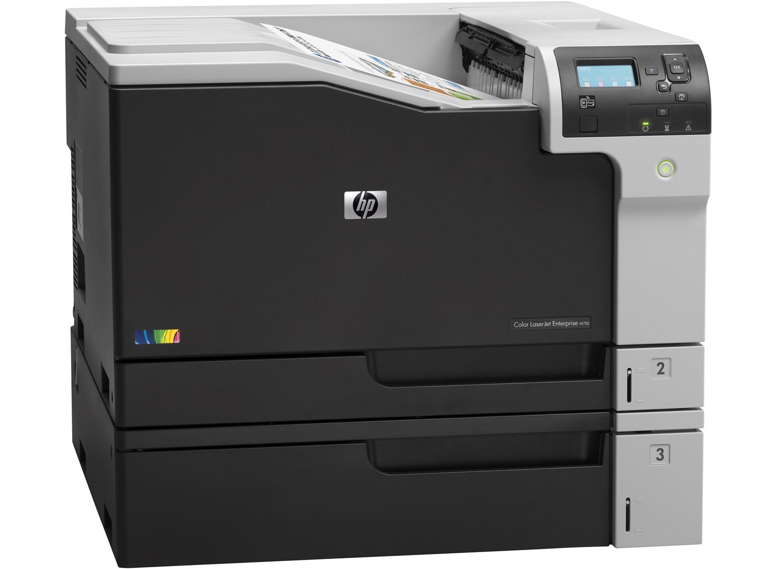 Tiskárna HP Color LaserJet Enterprise M750dn A3 bar/30str| USB|LAN|duplex|1,91Kč