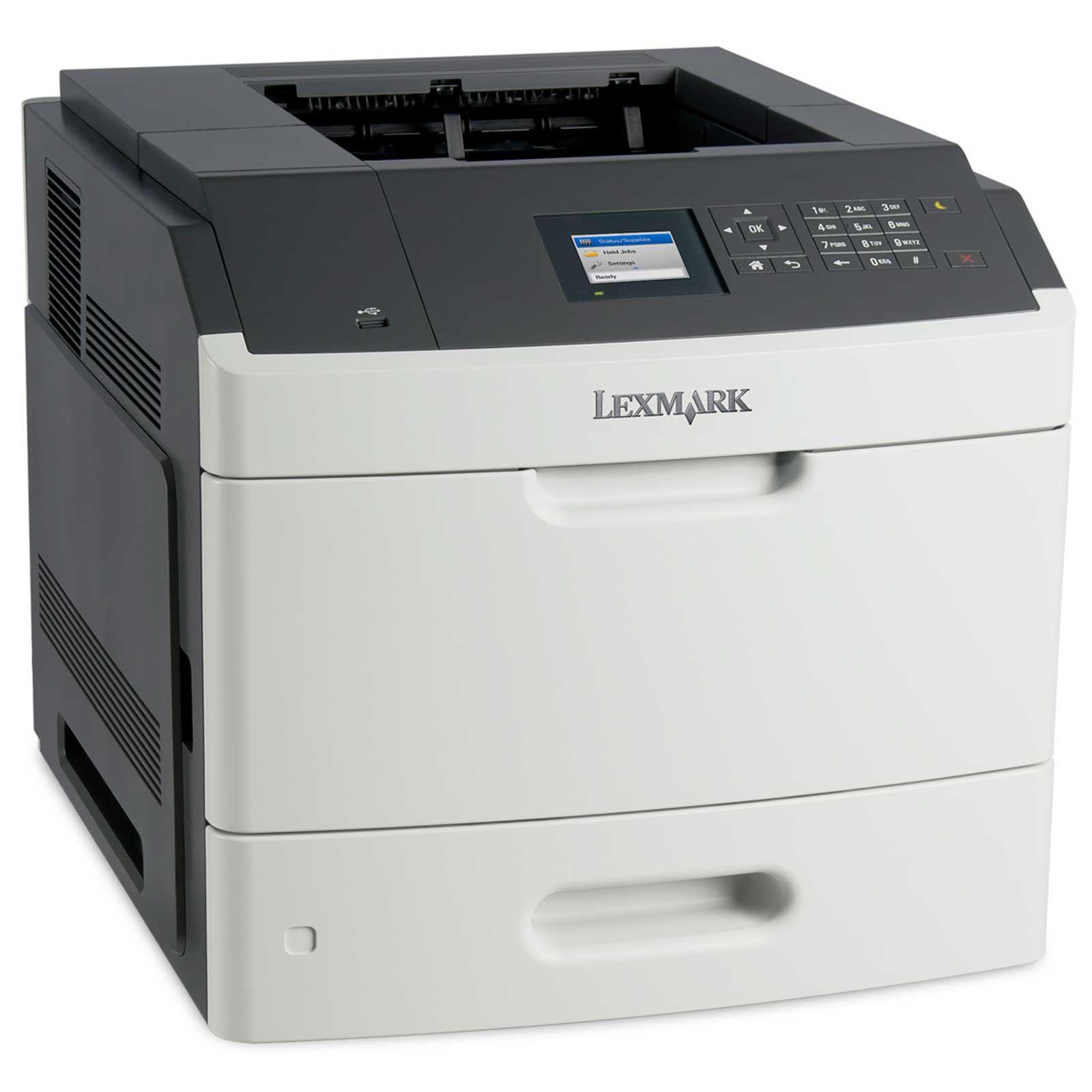 LEXMARK tiskárna MS810dn, A4 52ppm, 512MB, MONOCHROME LASER LAN, USB, duplex