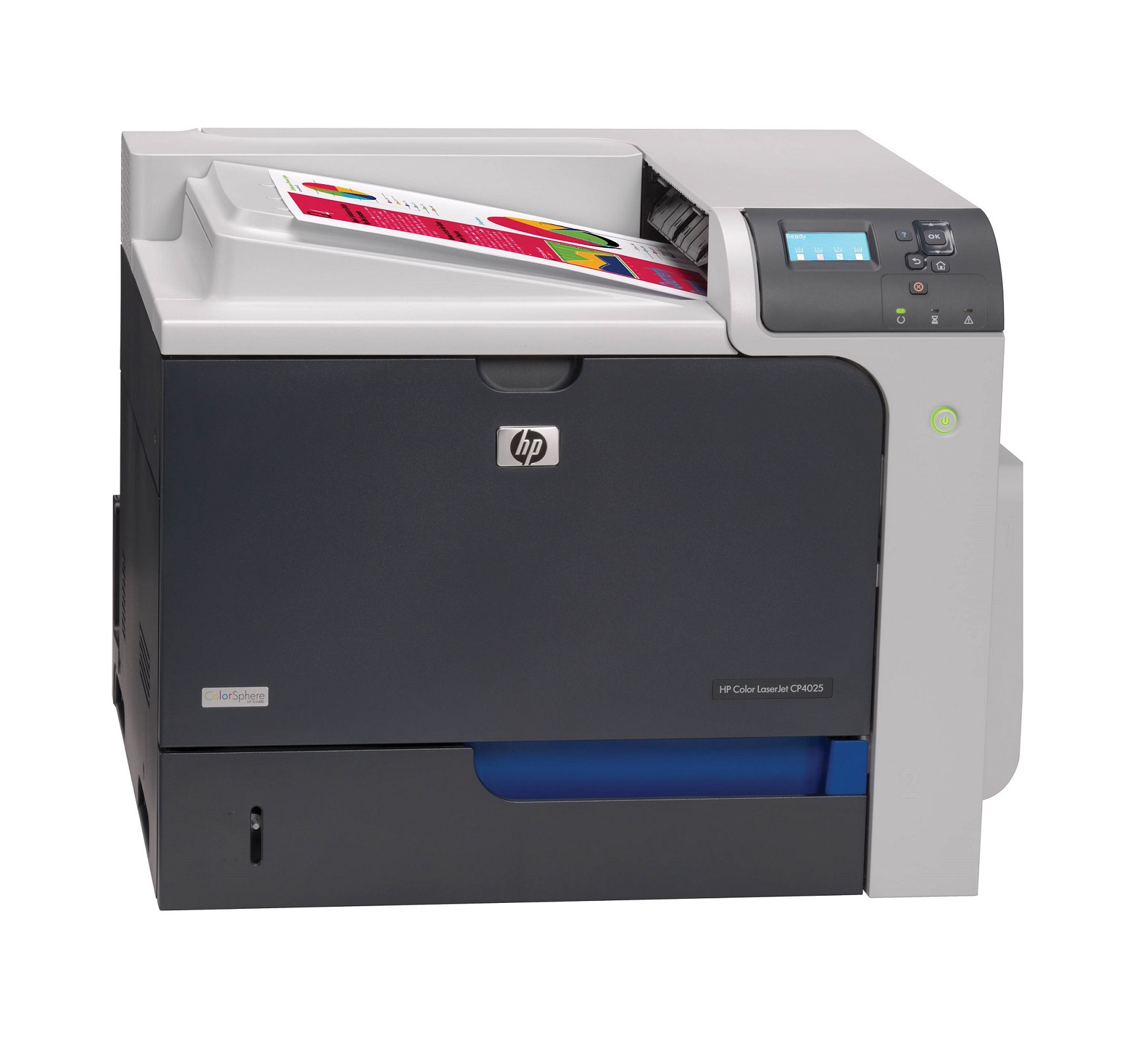 HP Color LaserJet Enterprise CP4025n (A4, 35 ppm, USB, Ethernet)