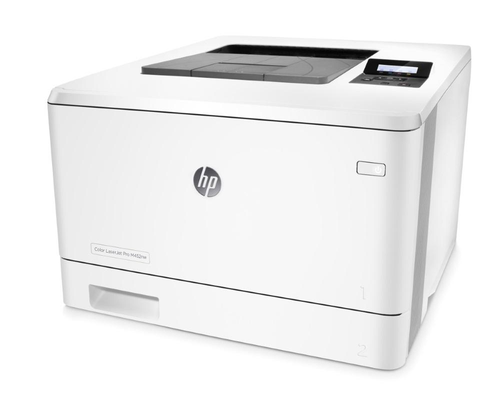 HP Color LaserJet Pro 400 M452nw (A4, 27 ppm, USB 2.0, Wi-fi, Ethernet)