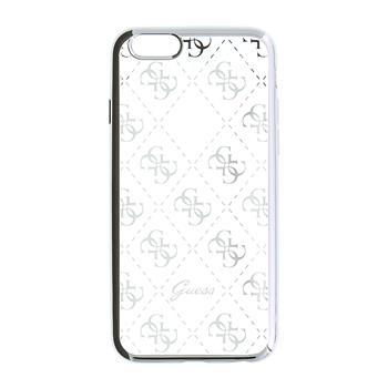 Guess 4G TPU Pouzdro Silver pro iPhone 5/5S/SE