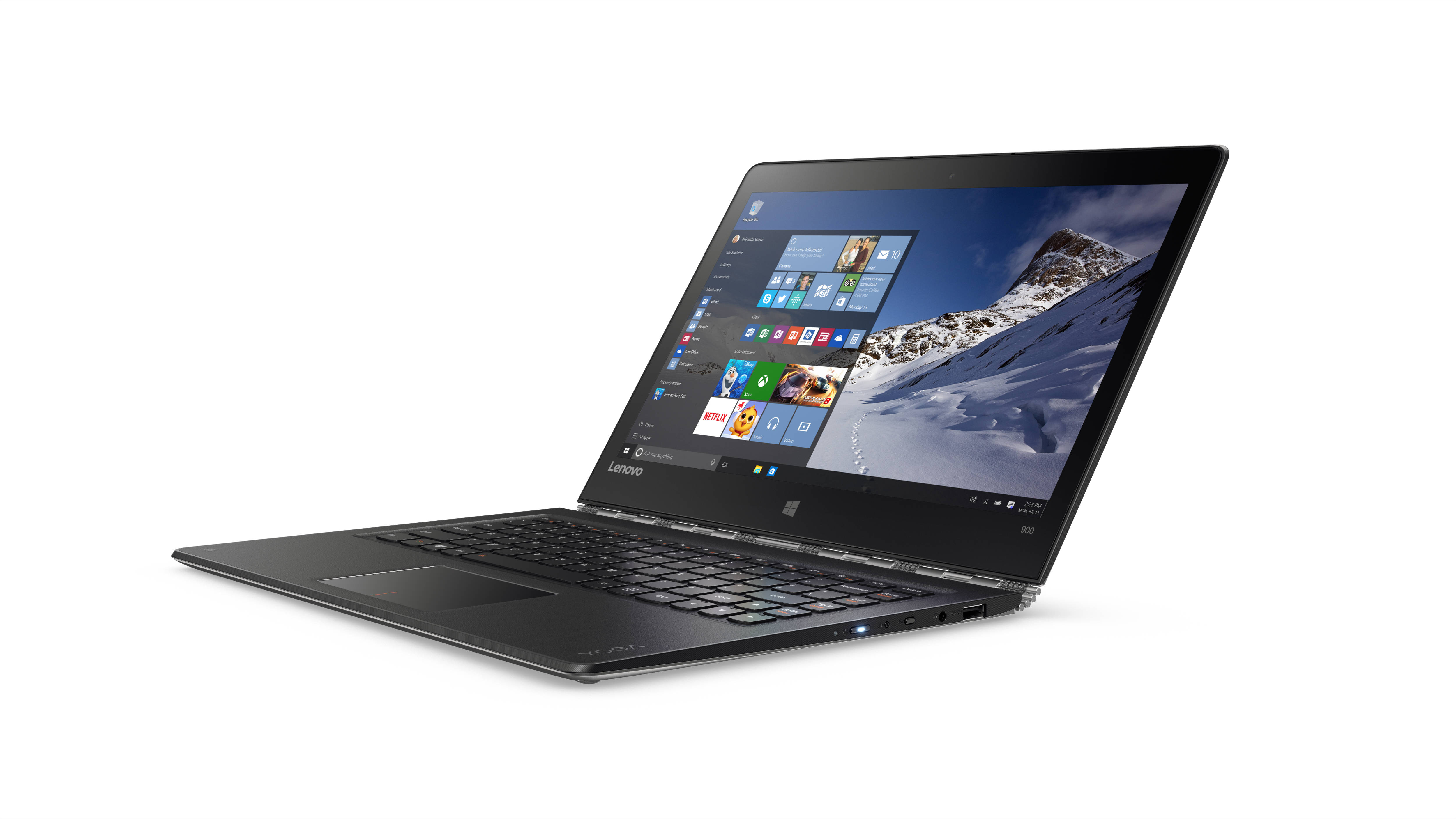 "Lenovo YOGA 900-13ISK2 i5-6260U 2,90GHz/8GB/SSD 256GB/13,3"" QHD+/IPS/multitouch/WIN10 stříbrná 80UE0082CK"