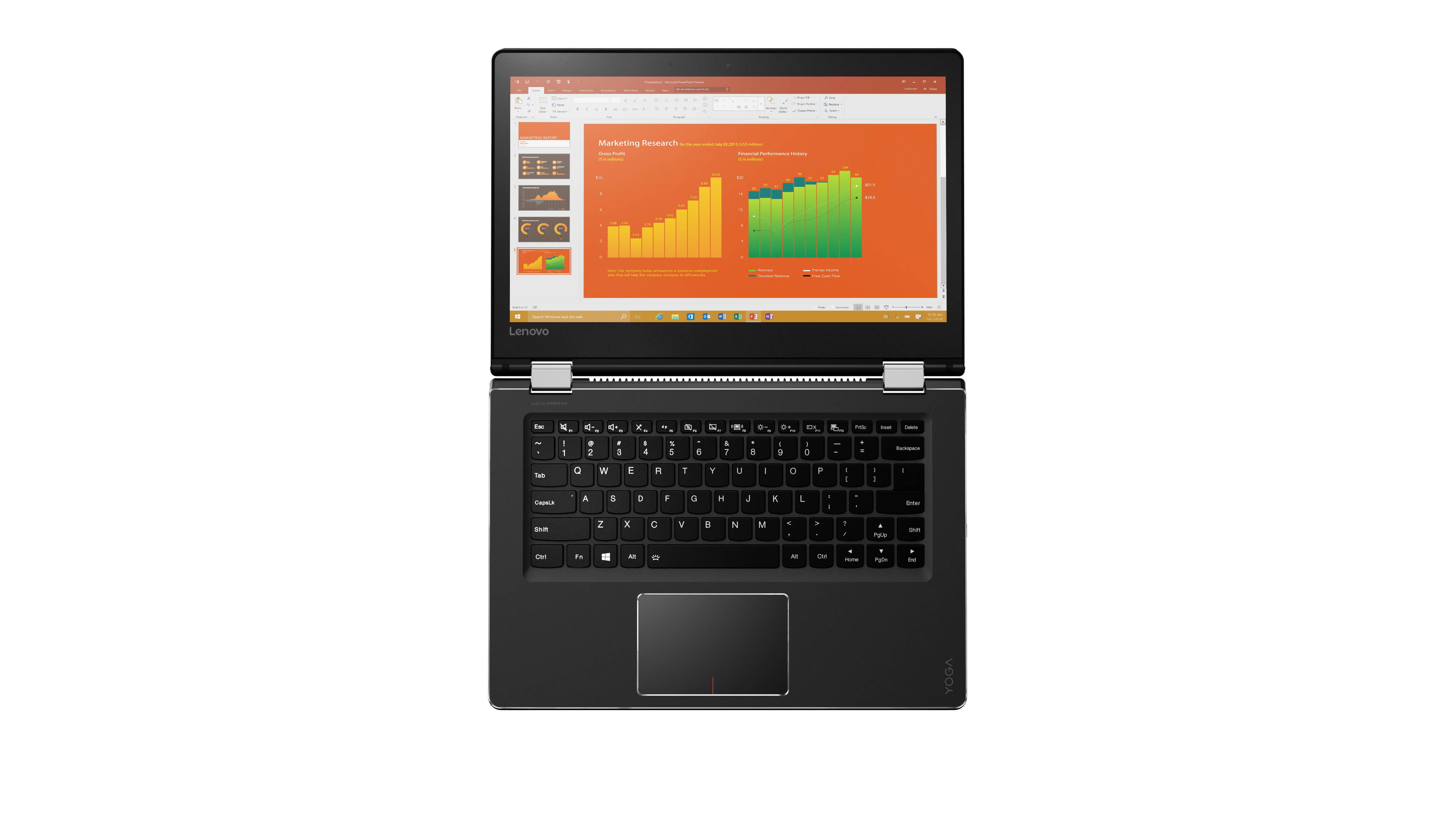 """IP Yoga 510 14""""FHD/I7-6500U/8G/256SSD/AMD/W10"""