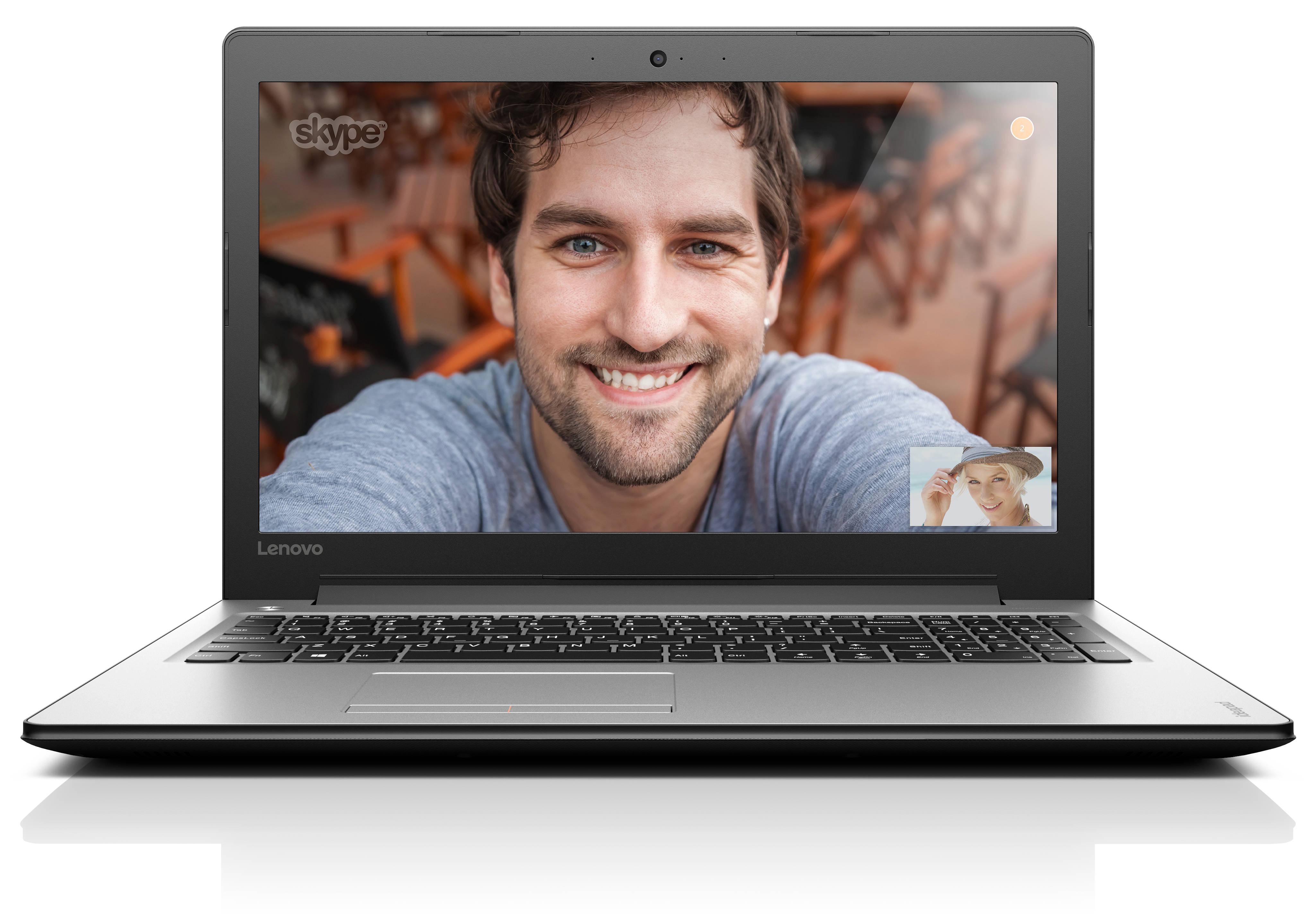 "Lenovo IdeaPad 310-15ISK Core i5-6200U 2,80GHz/8GB/1TB/15,6"" FHD/GeForce 2GB/DVD-RW/WIN10 stříbrná 80SM00E0CK"