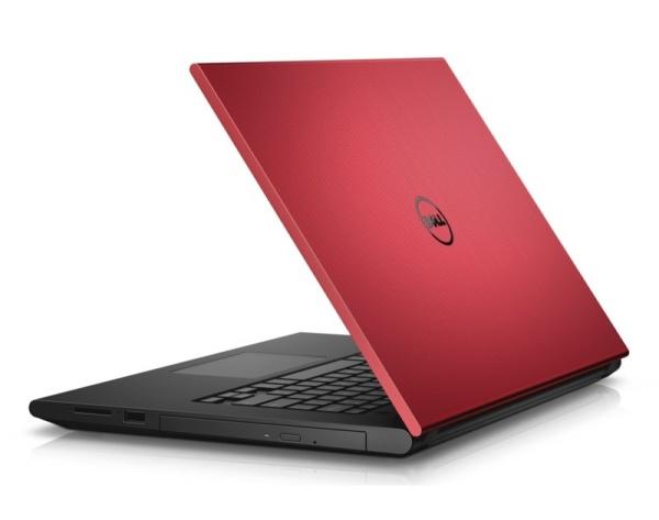 "Dell Inspiron 3543 15"" i5-5200U/4GB/500GB/820M-2G/DVD/HDMI/RJ45/WIFI/BT/MCR/W10UPG/2RNBD/červený"