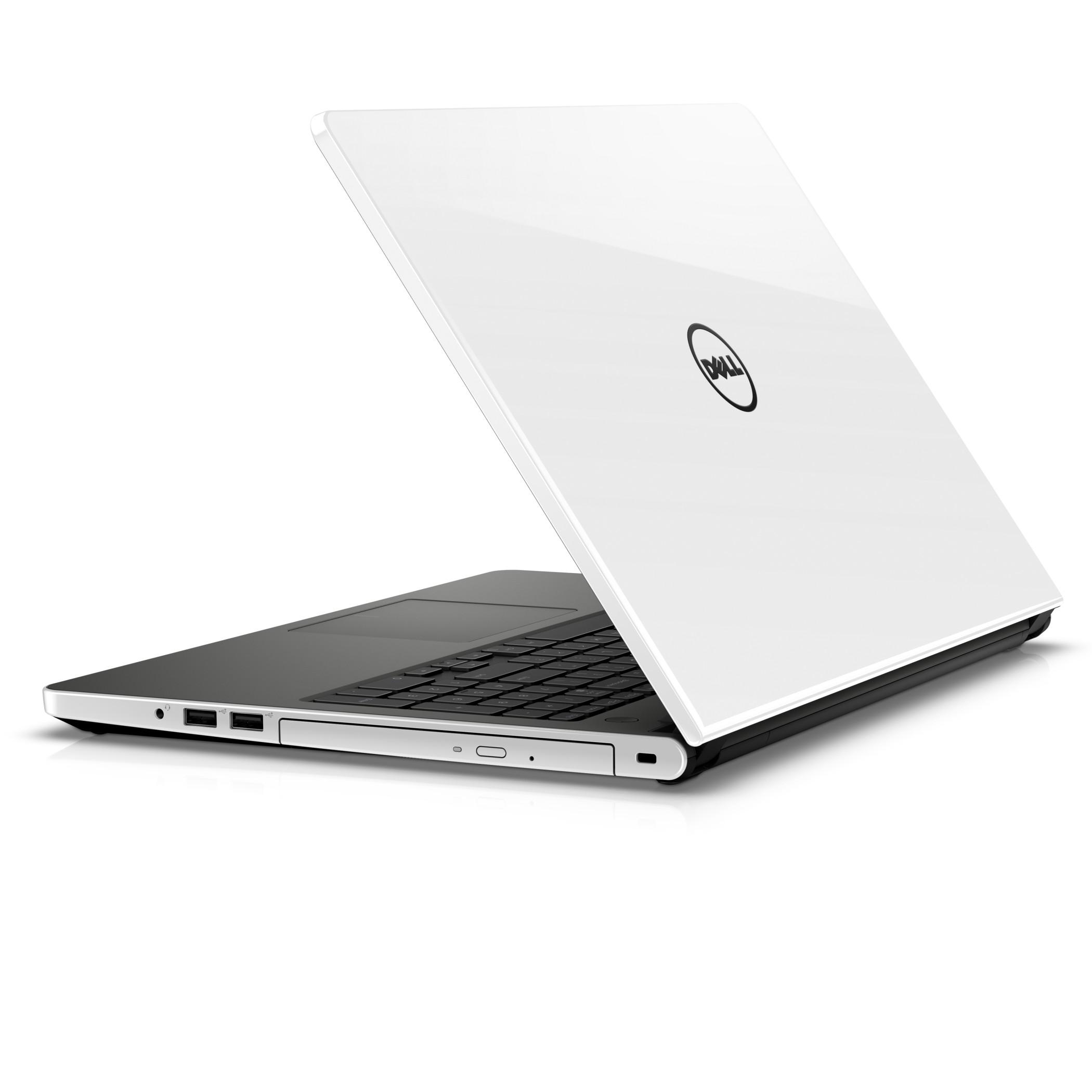 """Dell Inspiron 5559 15"""" i5-6200U/4GB/500GB/M335-2G/HDMI/RJ45/WIFI/BT/MCR/W10UPG/2NBD bílý"""