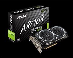 MSI GeForce GTX 1070 ARMOR 8G OC GDDR5