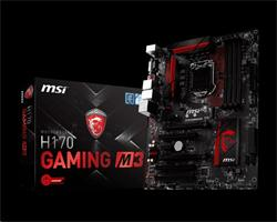 MSI H170 GAMING M3/Socket 1151/DDR4/USB3/DVI/HDMI/Killer E2400/ATX
