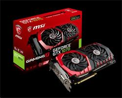 MSI GeForce GTX 1070 GAMING X 8G GDDR5