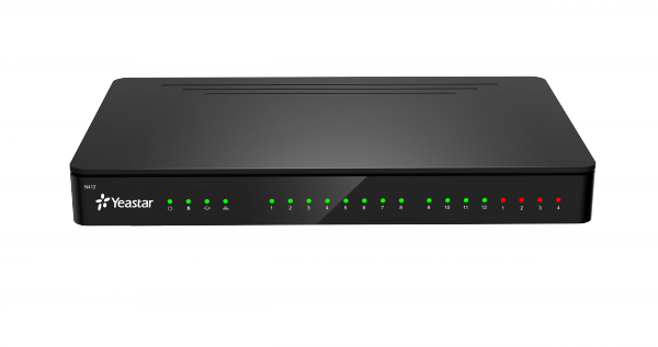 Yeastar Smart PBX N412 8 FXS portů, 8 SIP úč. a 4 trunky