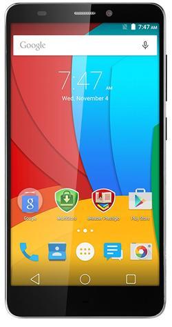 "PRESTIGIO Muze K5 LTE, 5.0"" HD IPS, Dual SIM, Android 5.1, Quad Core 1GHz, 1280*720, 8GB ROM,1GB RAM, 8Mpx, LTE, bílý"