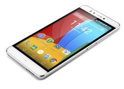 "PRESTIGIO Muze D3, 5.3"" HD IPS, Dual SIM, Android 5.0, Quad Core 1,3GHz, 1280*720, 8GB ROM,1GB RAM, 13Mpx, bílý, BAZAR"