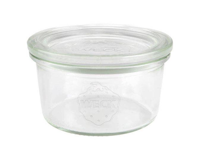 sklenice+víč.165ml (d80)WECK Sturz-1ks