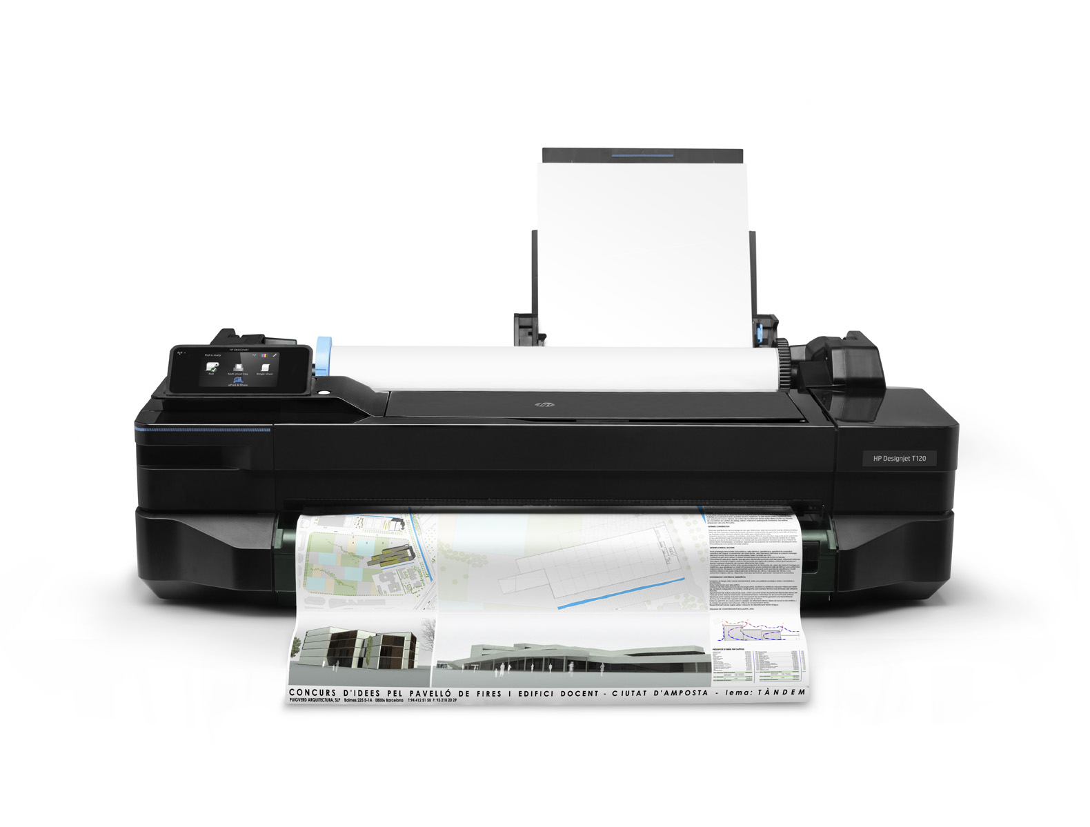HP Designjet T120 24-in ePrinter /USB, LAN, WLAN