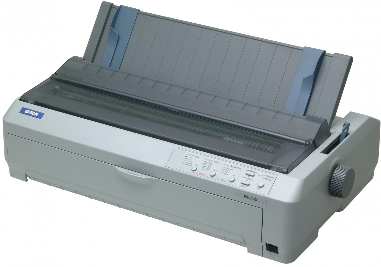 EPSON FX-2190, A3, 2x9 jehel, 566zn/s, USB1.1, LPT
