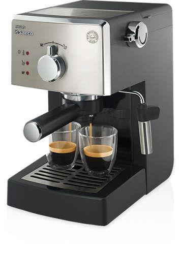 Kávovar Saeco HD8425/19 Poemia | černý