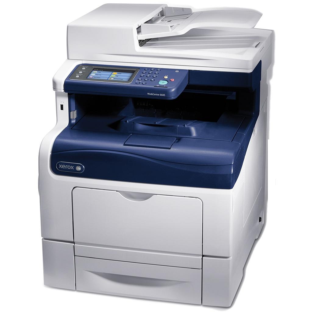 Xerox WC6605N, Laser A4, Ethernet, DADF