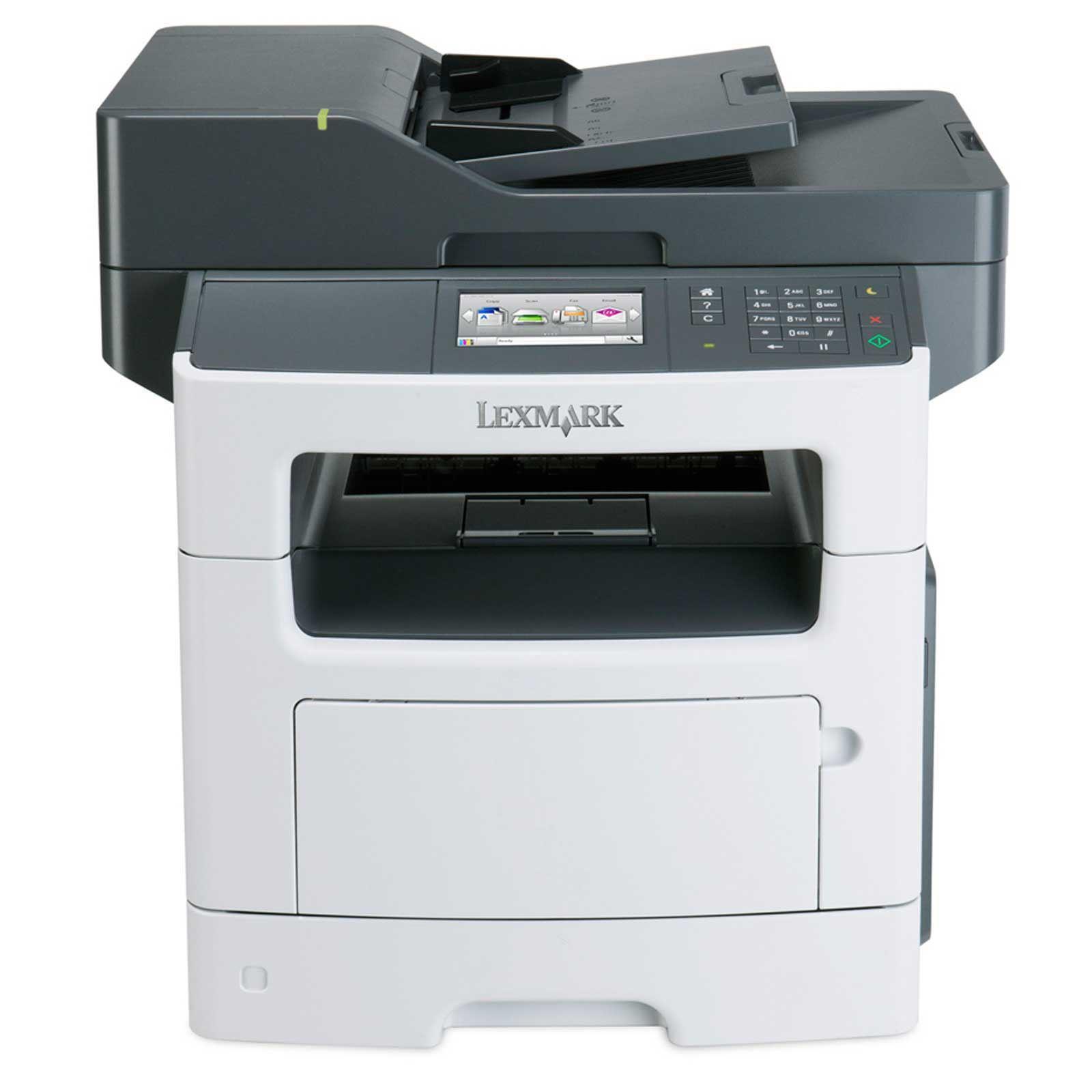 LEXMARK tiskárna MX511dhe MFP multifunkční A4 MONOCHROM LASER, 512MB, 32ppm USB/LAN, duplex, dotykový LCD, HDD