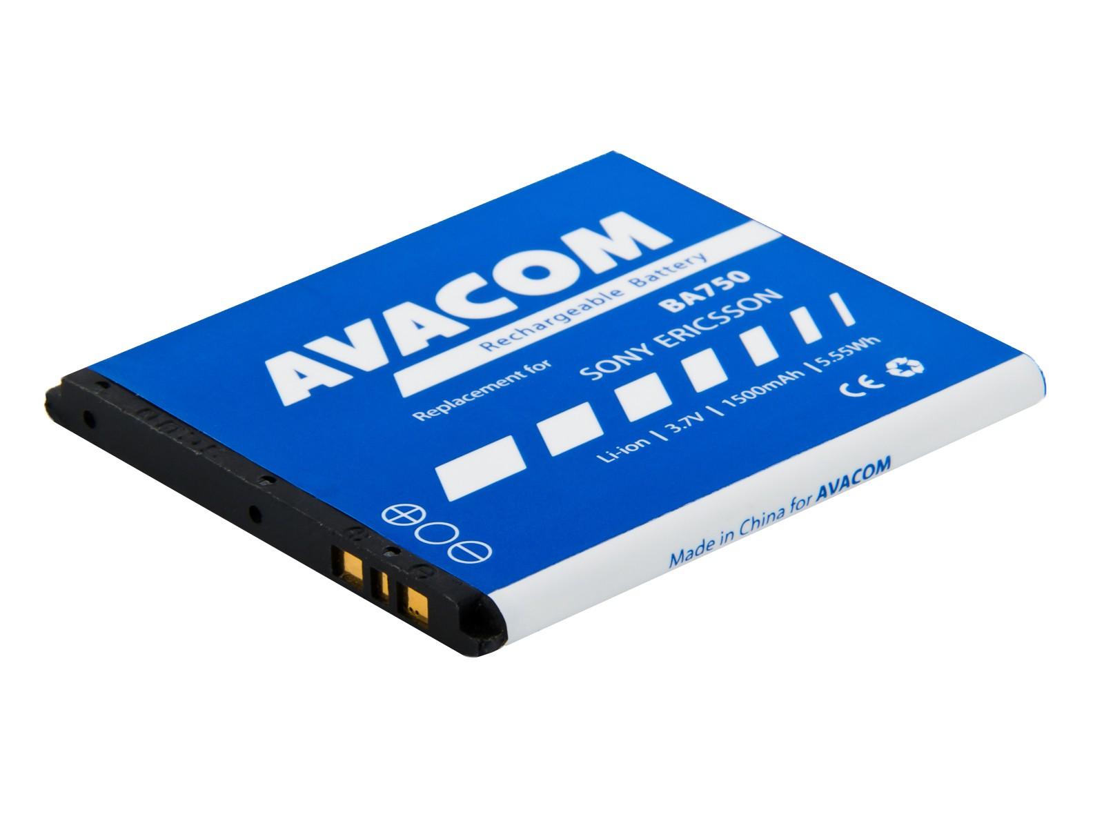 Baterie AVACOM GSSE-ARC-S1500A do mobilu Sony Ericsson Xperia Arc, Arc S Li-Ion 3,7V 1500mAh