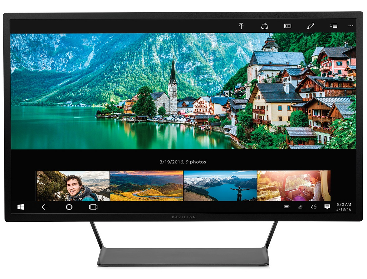 "HP LCD Pavilion 32 LED backlight AG WVA+; 32""matný,2560x1440,10M:1,300cd,7ms,MHL,2xHDMI,1xDisplayPort,3xUSB-black"