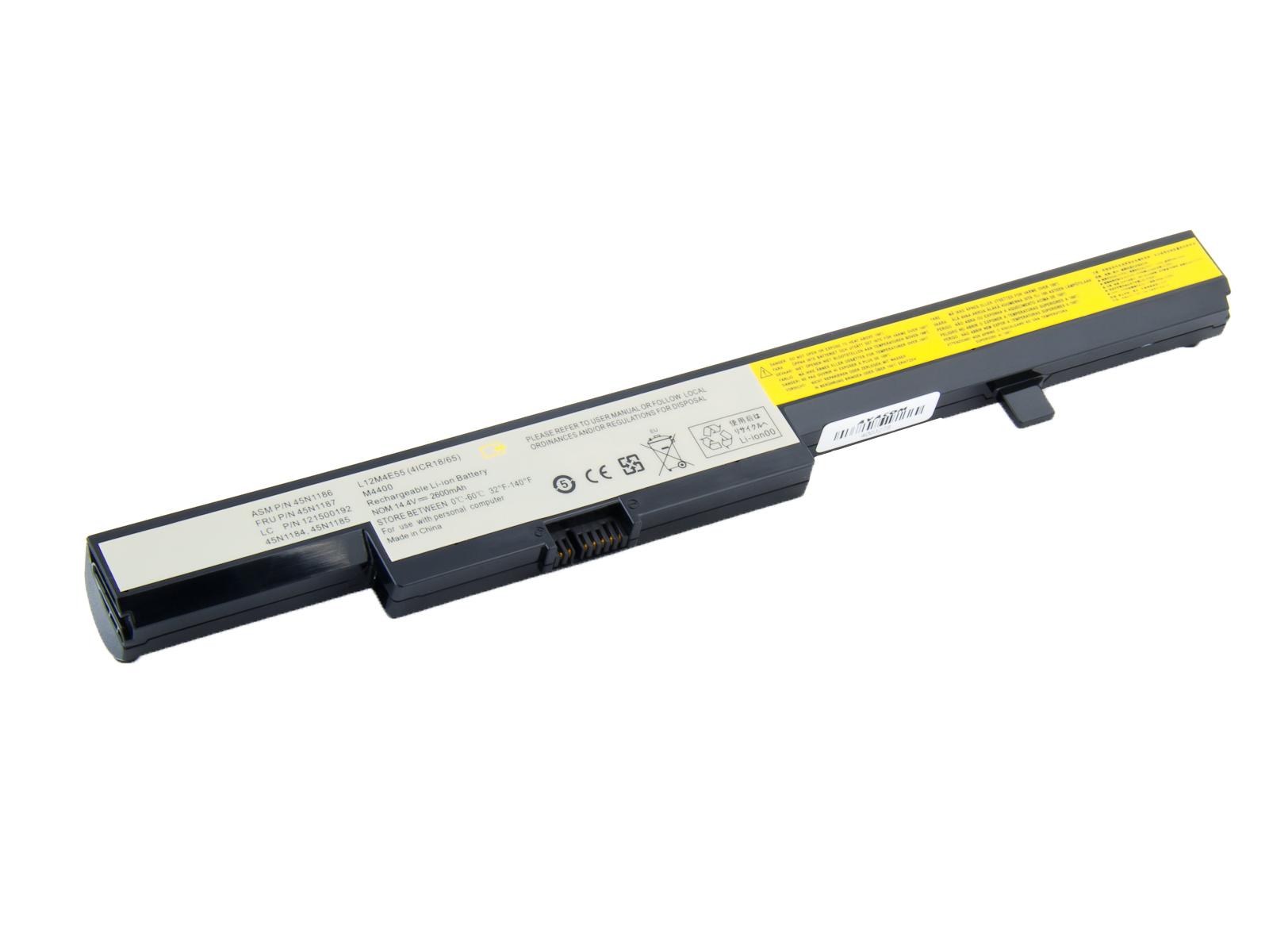 Náhradní baterie AVACOM Lenovo IdeaPad B50 Li-Ion 14,4V 2600mAh