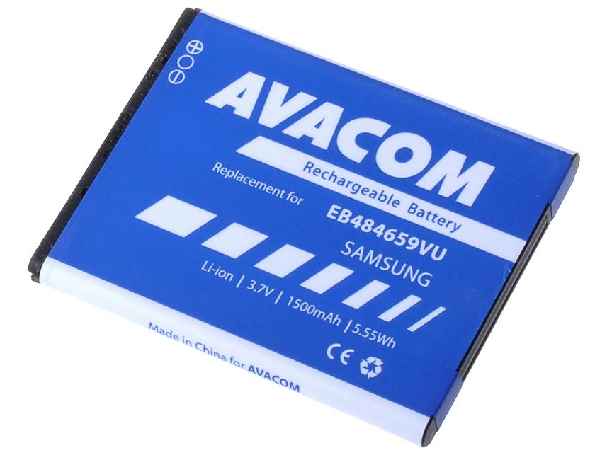 Baterie AVACOM GSSA-S5820-S1500A do mobilu Samsung Galaxy W Li-Ion 3,7V 1500mAh