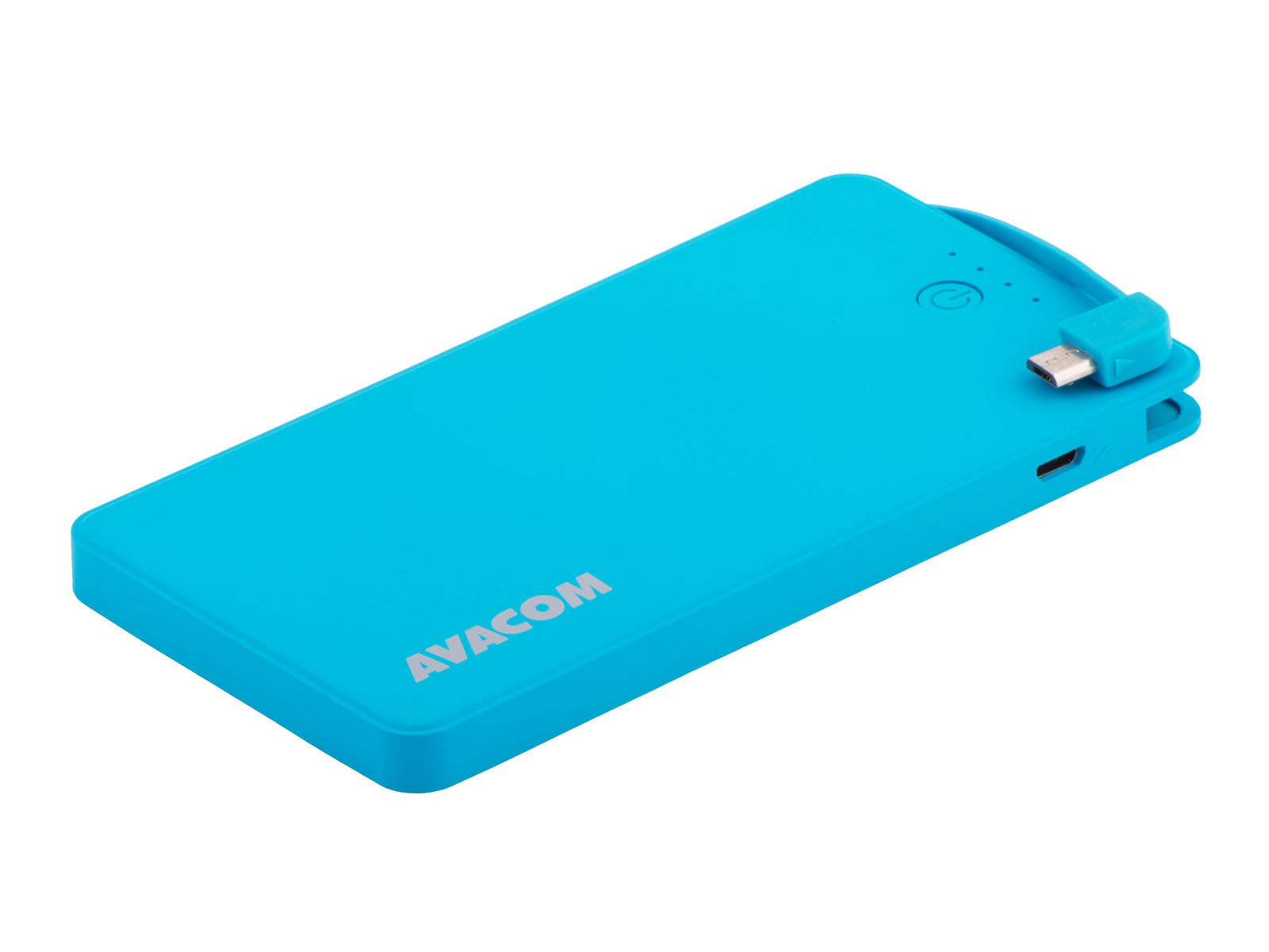 AVACOM externí baterie PWRB-4000B, Li-pol články, kapacita 4000mAh, výstup 5V/2.1A+1A, barva světle modrá