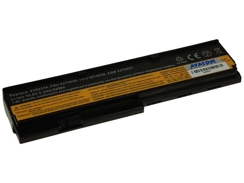 Náhradní baterie AVACOM Lenovo X200 series Li-ion 11,1V 5200mAh/58Wh