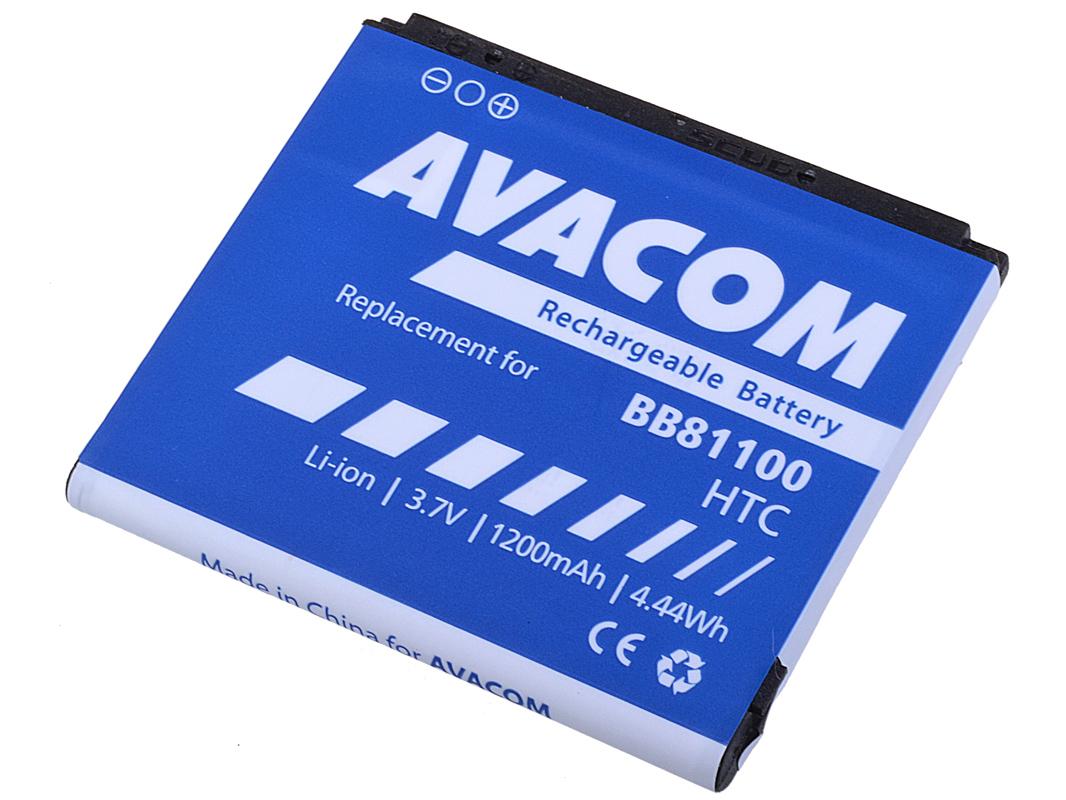Baterie AVACOM PDHT-HD2-S1200A do mobilu HTC HD2 Li-Ion 3,7V 1230mAh (náhrada BB81100/ BA-S400)