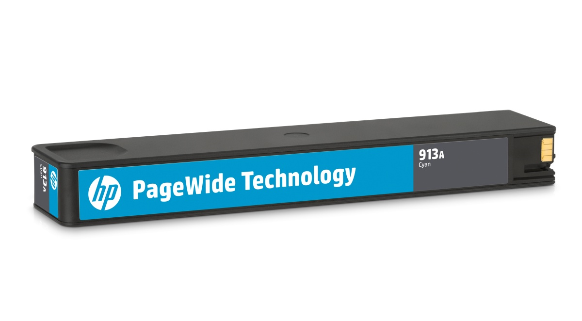 HP F6T77AE 913A Cyan Original PageWide Cartridge