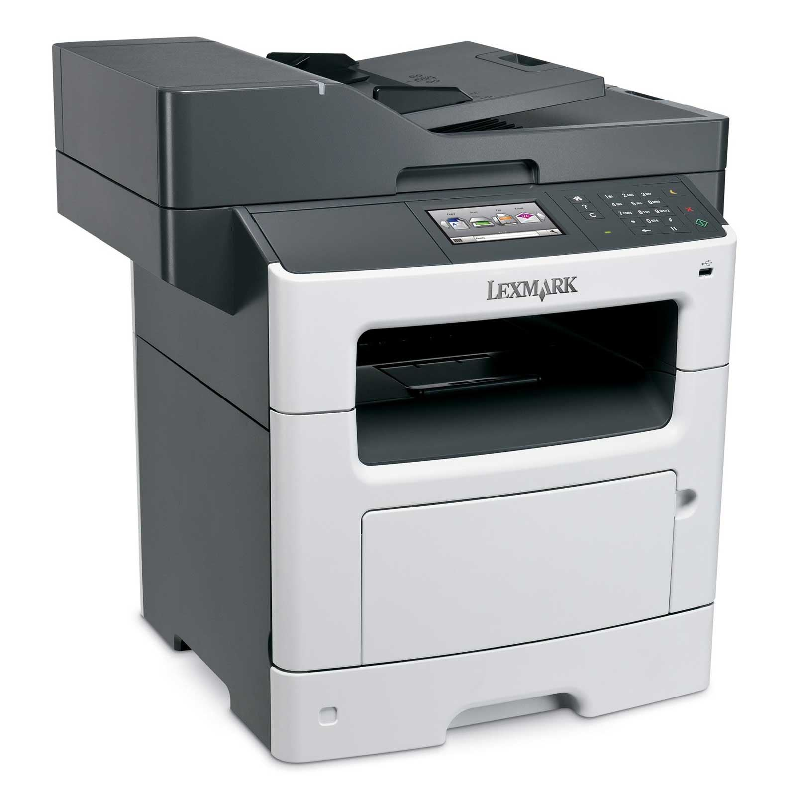 Lexmark MX510De mono laser MFP, 42 ppm, síť, duplex, RADF, dotykový LCD