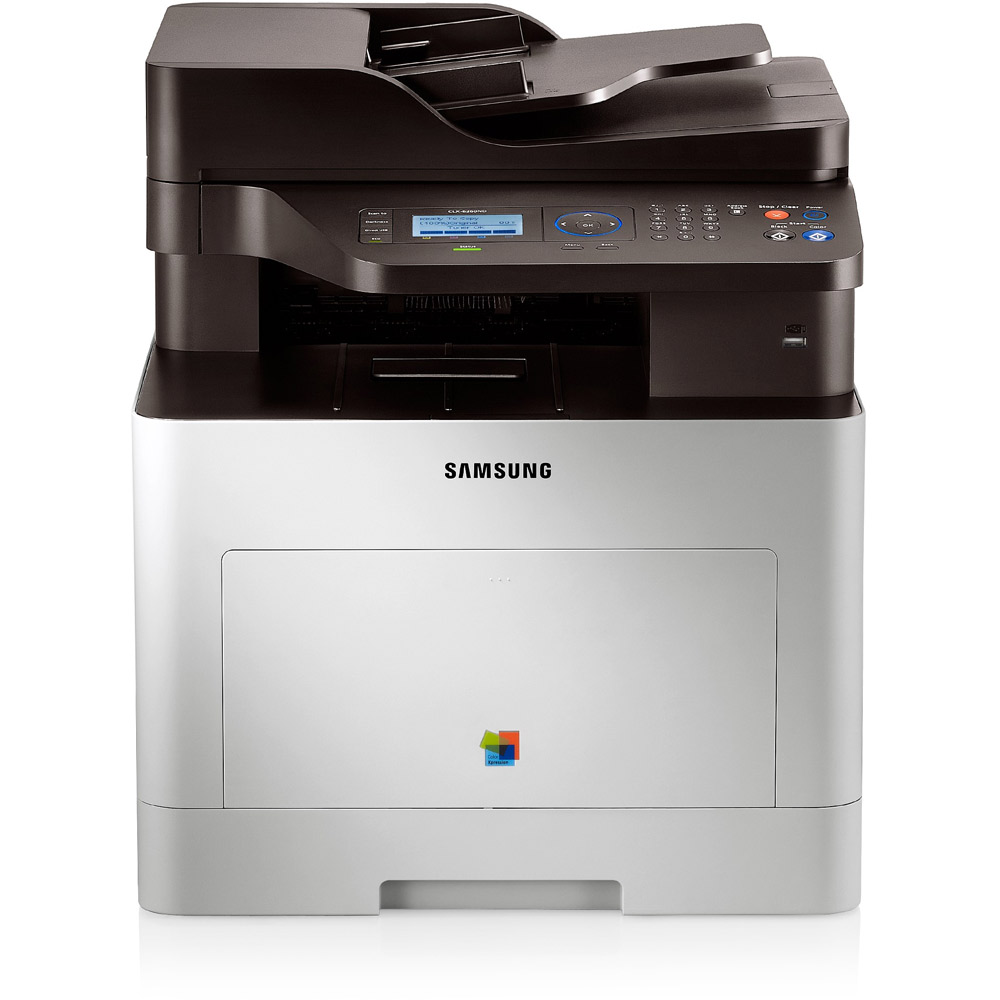 Samsung CLX - 6260ND,A4,24/24ppm,až 9600x600dpi,PCL+PS,512MB,USB,ethernet,duplex