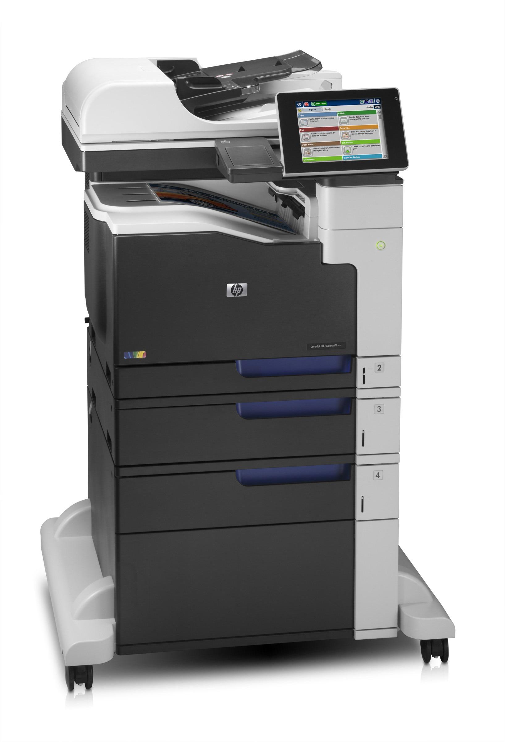 Multifunkce HP LaserJet Ent 700 M775f A3 bar/30str| USB| LAN| duplex| 1,91 Kč