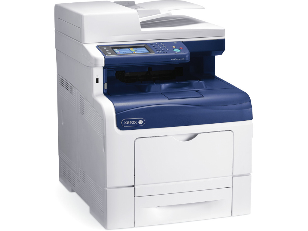 Xerox WC 6605DN, CL LED, MFP,A4,35 str.,(Copy/Print/Scan/Fax) Duplex,DADF, USB, Ethernet