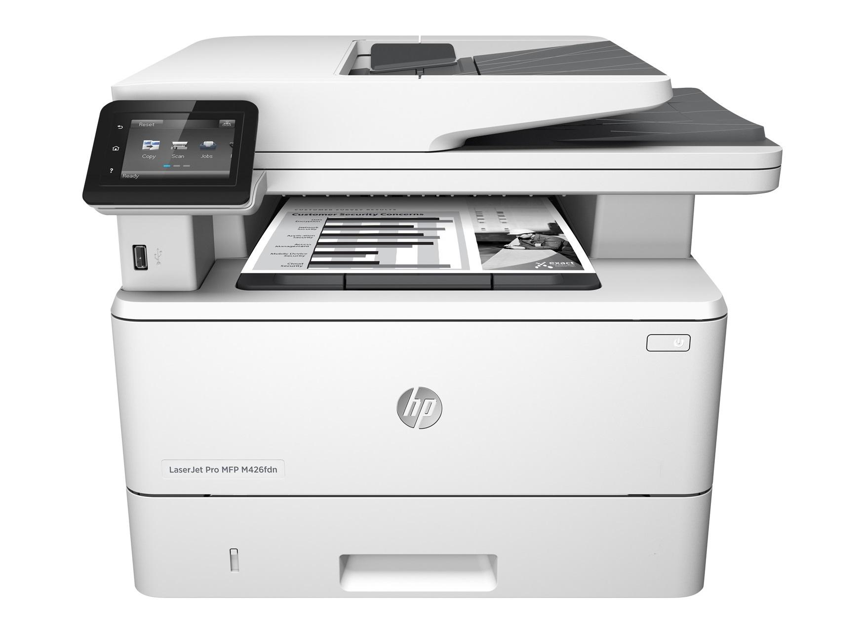 HP LaserJet Pro MFP M426fdn (38str/min, A4, USB/Ethernet, PRINT/SCAN/COPY, FAX, duplex)